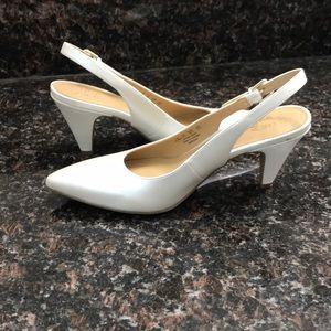 c918b0f4b4d Naturalizer Shoes - Naturalizer Pearlescent Morgan Slingback Heels
